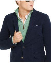 Polo Ralph Lauren - Blue Chino Sport Coat for Men - Lyst
