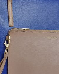 Ted Baker | Blue Colour Block Leather Shopper Bag | Lyst
