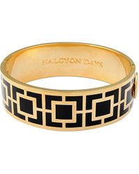 Halcyon Days | Metallic Maya Bangle | Lyst