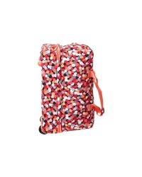 Vera Bradley | Pink Lighten Up Wheeled Carry-on | Lyst