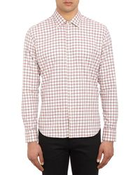 Brooklyn Tailors | Natural Flecked Check Flannel Shirt for Men | Lyst