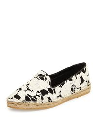 Cole Haan - Black Palermo Lace Espadrille Loafer - Lyst