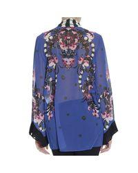 Just Cavalli - Blue Shirt - Lyst