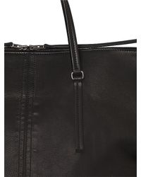 Rick Owens | Black Leather Weekend Bag for Men | Lyst