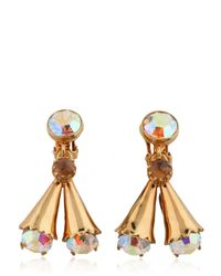 House of Lavande | Metallic Luna Earring | Lyst