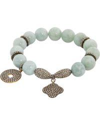 Carole Shashona - Gray Lotus 5 Essence Bracelet - Lyst