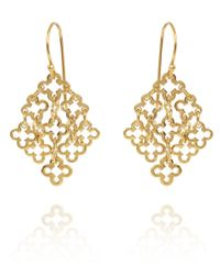 Dinny Hall | Metallic Gold Vermeil Talitha Drop Earrings | Lyst