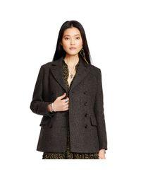 Denim & Supply Ralph Lauren - Gray Double-breasted Jacket - Lyst
