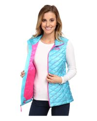The North Face | Blue Thermoball™ Vest | Lyst