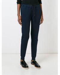 Moncler - Blue Slim Track Pants - Lyst