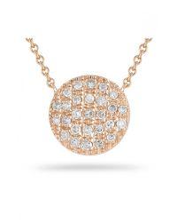 Dana Rebecca - Pink Lauren Joy Medium Necklace in Rose Gold - Lyst