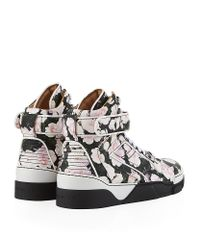 Givenchy | Multicolor Floral Hightop Sneaker for Men | Lyst