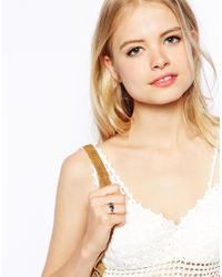 ASOS   Multicolor Double Heart Mood Ring   Lyst