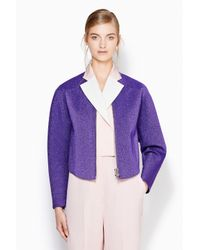 3.1 Phillip Lim - Purple Structured Poet Jacket - Lyst