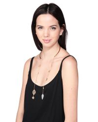 Hipanema - Metallic Necklace / Longcollar - Lyst