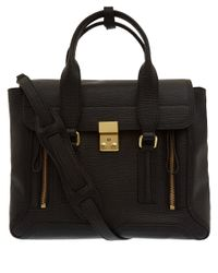 3.1 Phillip Lim | Medium Black Pashli Leather Bag | Lyst