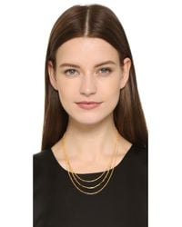 Gorjana - Metallic Cameron Layer Necklace - Gold - Lyst