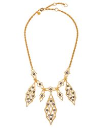 Alexis Bittar | Metallic Elements Rocky Vine Bib Necklace | Lyst