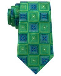 Peter Thomas | Green Large Floral Diamond Tie for Men | Lyst