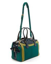 Burberry Prorsum - Green Satchel - Bee Bag - Lyst