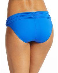 La Blanca | Blue Core Solids Hipster Bottoms | Lyst