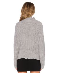 Tejido | Gray Waffle Sweater | Lyst