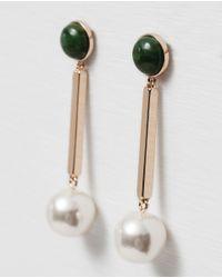 Zara   Black Long Earrings   Lyst