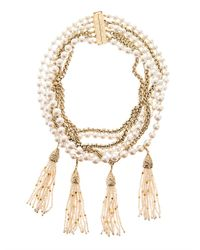 Rosantica By Michela Panero | Metallic Himalaya River-Pearl Necklace | Lyst