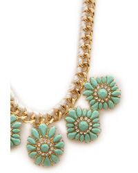 Forever 21 | Green Remixed Heirloom Necklace | Lyst
