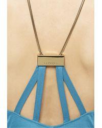La Perla   Blue Dress   Lyst