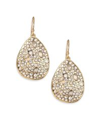 Alexis Bittar | Metallic Miss Havisham Crystal Large Teardrop Earrings | Lyst
