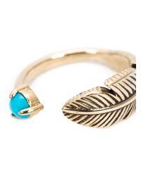 Pamela Love - Blue 'pluma' Ring - Lyst