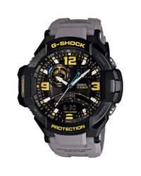 G-Shock | Gray 'aviation' Ana-digi Watch for Men | Lyst