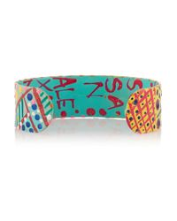 Finds - Blue + Susan Alexandra Pineapple Watermelon Crystal-Embellished Cuff - Lyst