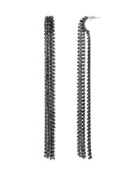 Banana Republic | Metallic Fringe Stud Earring | Lyst