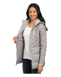 The North Face | Metallic Tyndall Coat | Lyst