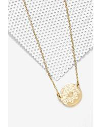 Nasty Gal | Metallic Vinca Gonutz Donutz Gold Necklace | Lyst