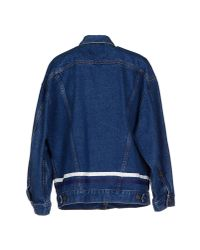 Harvey Faircloth - Blue Denim Outerwear - Lyst