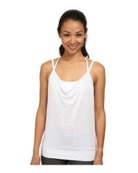 Beyond Yoga - White Goddess Tank Top - Lyst