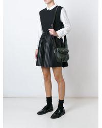 Marc By Marc Jacobs - Black Mini 'new Q Zipper Natasha' Crossbody Bag - Lyst