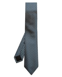 Gucci - Blue Broken-Stripe Jacquard Silk Tie for Men - Lyst