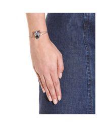 KENZO - Metallic Sterling Silver Bracelet - Lyst