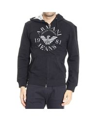Armani Jeans - Black Sweater for Men - Lyst