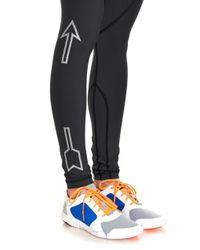 The Upside - Gray Prana-Print Performance Leggings - Lyst