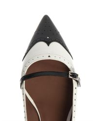 Tabitha Simmons - Black Belfy Leather Flats - Lyst