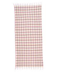 Standard Form - Pink Neo Window Pane Scarf - Lyst