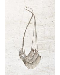 Urban Outfitters | Metallic Star Burst Statement Necklace | Lyst