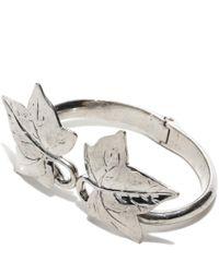 Alexander McQueen - Metallic Ivy Bracelet - Lyst