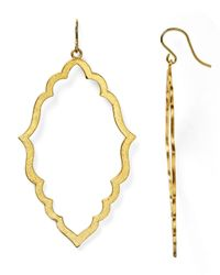 Dogeared | Metallic Be Your Own Kind Of Beautiful Moroccan Earrings | Lyst