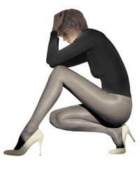 Wolford | Black Satin Touch Tights | Lyst